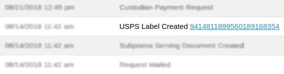 YoCierge Legal Technology - USPS Mailing